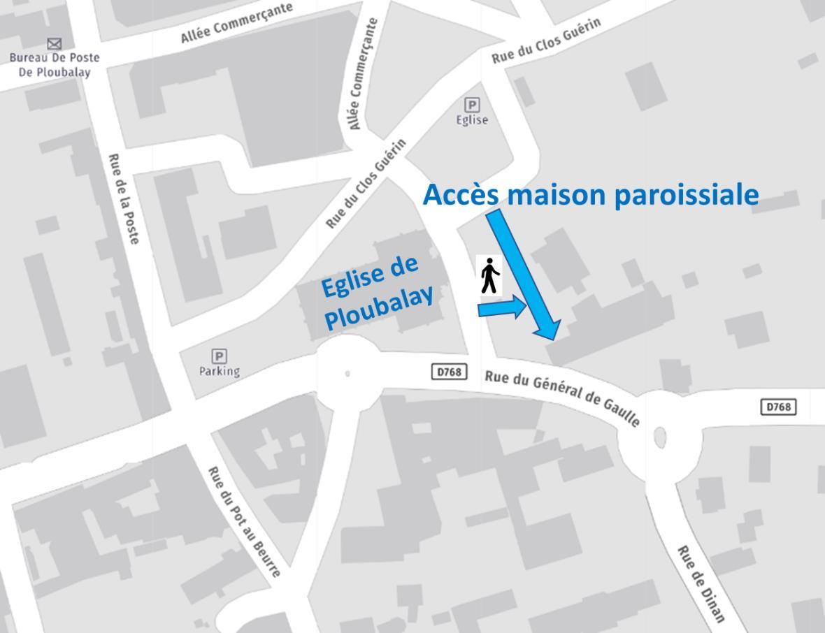 Plan Maison Paroissiale de Ploubalay