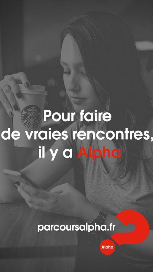 Alpha - Pour faire de vraies rencontres