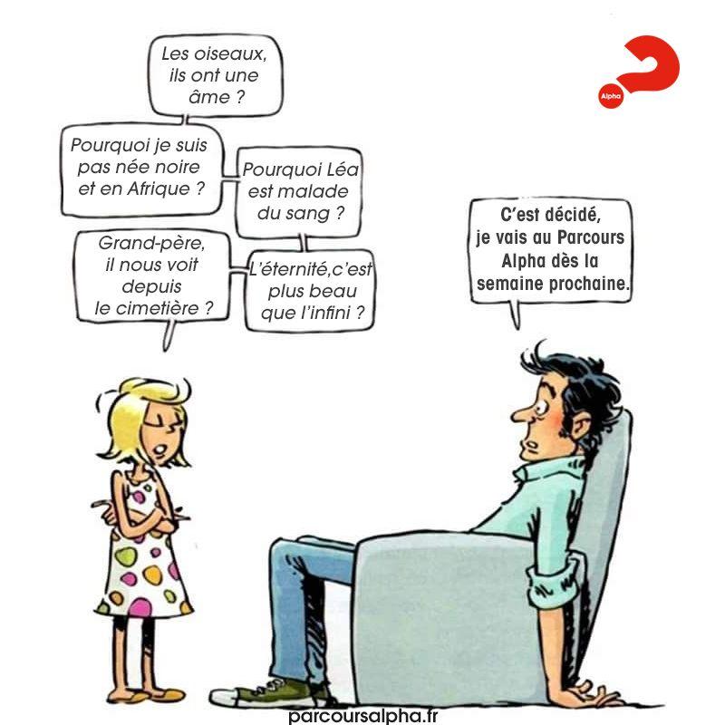 Humour Père et fille - Parcours Alpha