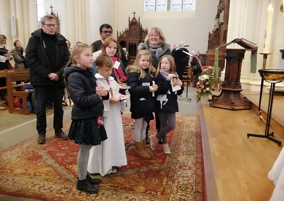 Baptême des 7 à 12 ans