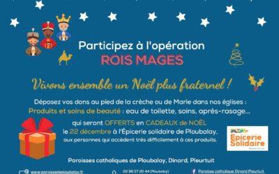 Participez à l'opération Rois Mages | Communiqué paroissial n°23
