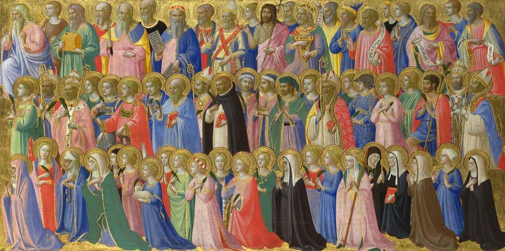 Prédelle du retable de l'église du Couvent Saint Marc à Florence par Fra Angelico